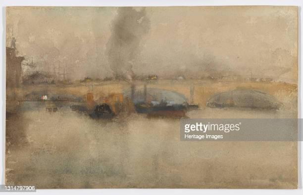 London Bridge, 1881. Artist James Abbott McNeill Whistler.