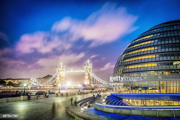 London Bridge and town hall