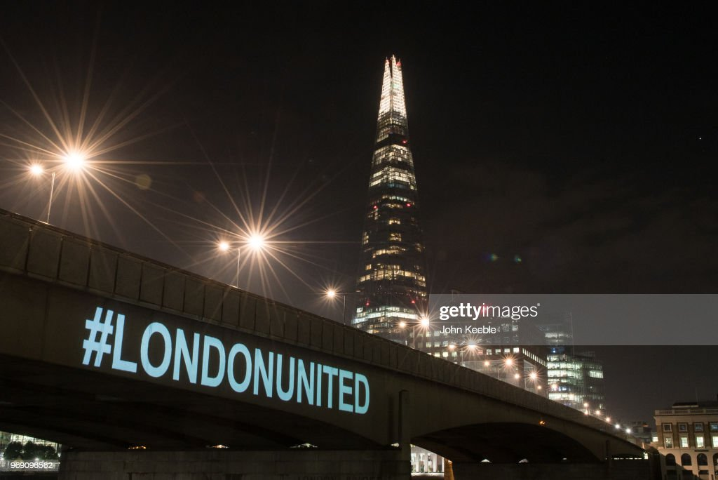 First Anniversary of The London Bridge Terror Attack Is Observed : News Photo