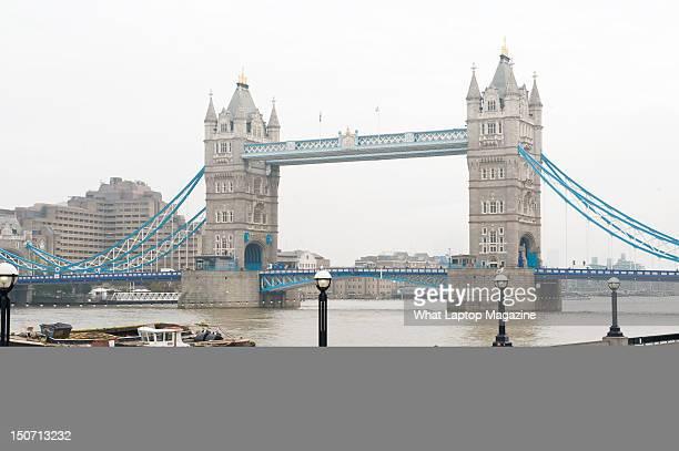 London Bridge on the River Thames London November 10 2011