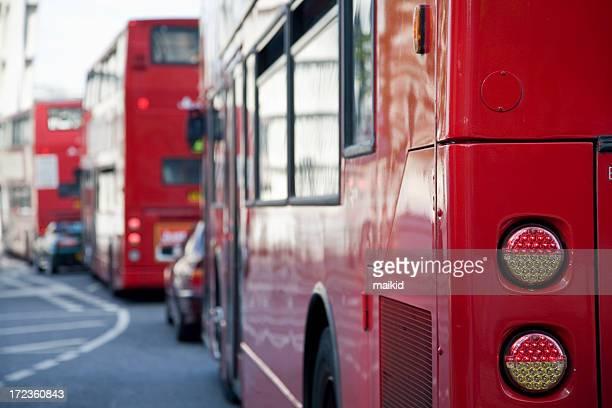 London buses queue