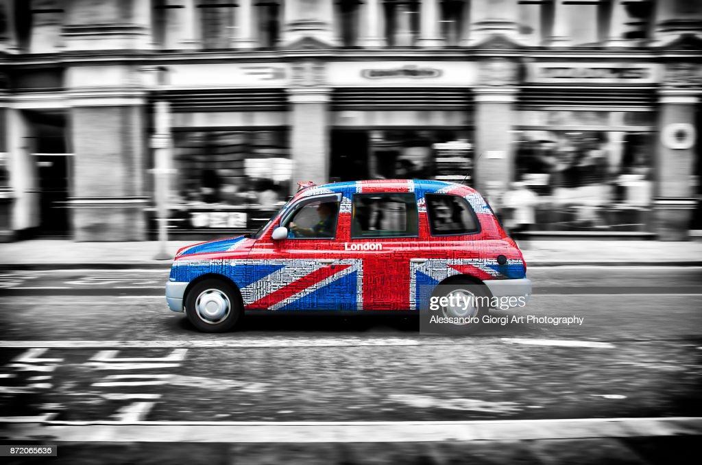 London cabs : Foto stock