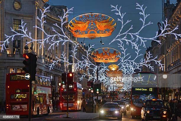 london christmas - turtle doves stock photos and pictures