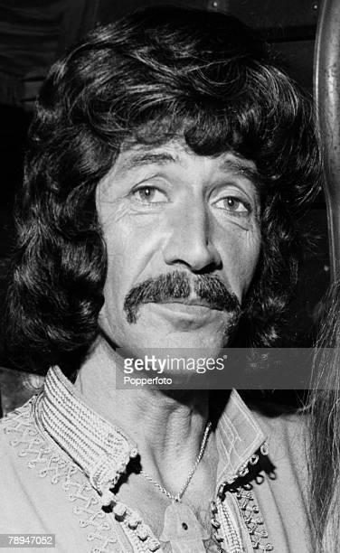 London Circa 1960/70's British actor Peter Wyngarde