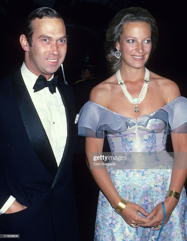 Prince Michael of Kent and Princess Michael of Kent at a Charity Dinner 1979 : News Photo