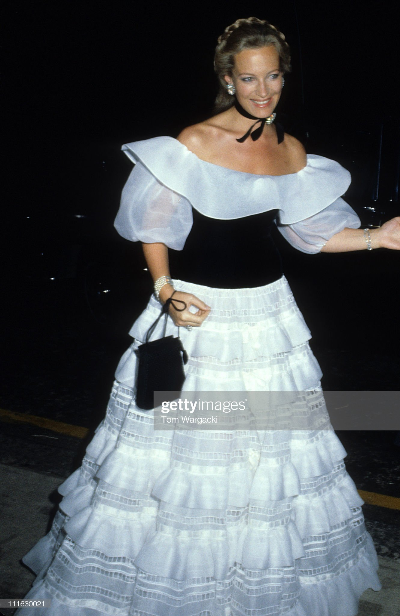 Princess Michael of Kent at Charity Dinner Early 1980s : News Photo