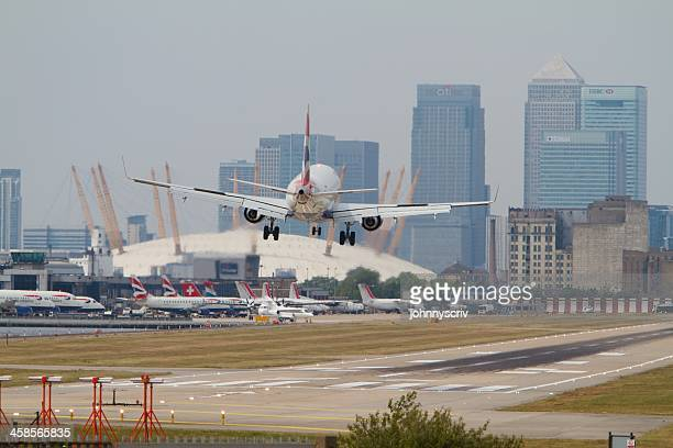 London City Airport...
