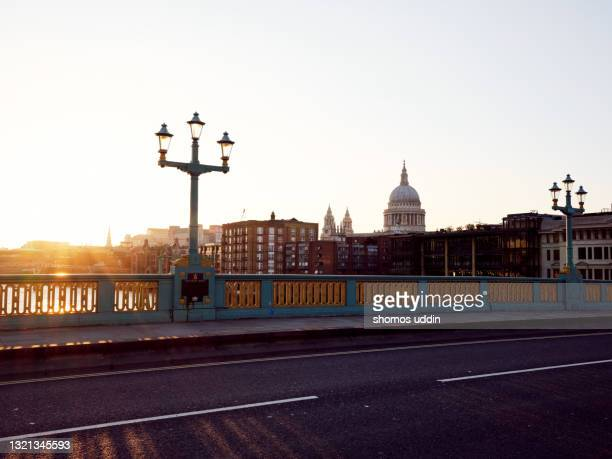 london city at sunset - greater london stock pictures, royalty-free photos & images