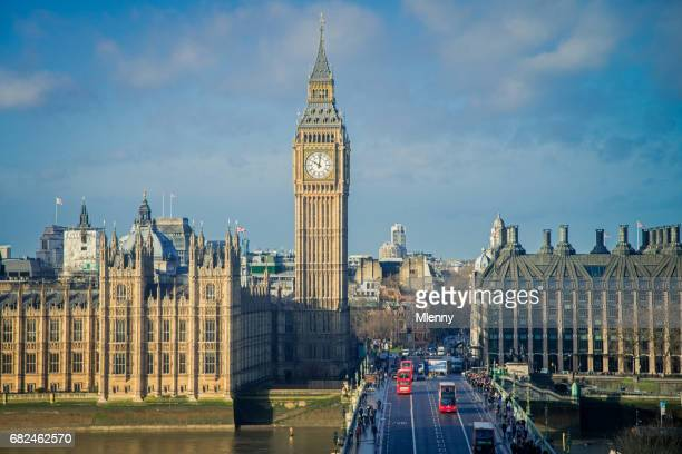london city big ben morning light united kingdom - monument stock pictures, royalty-free photos & images