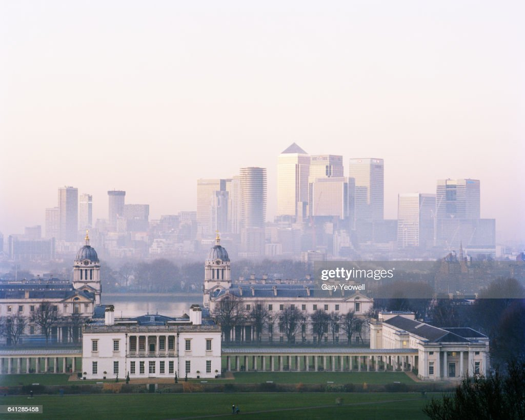 London city from Greenwich : Foto stock