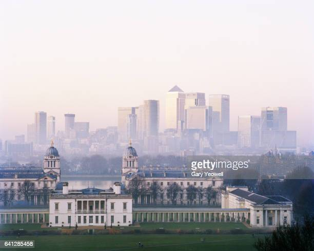 London city from Greenwich