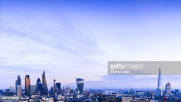 London city from high up