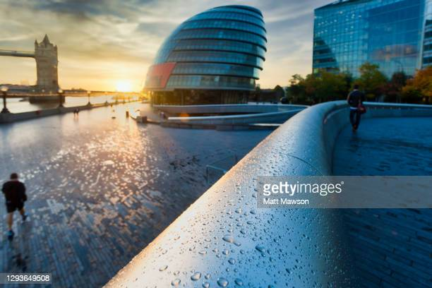 london city hall and tower bridge london england - town hall stock pictures, royalty-free photos & images