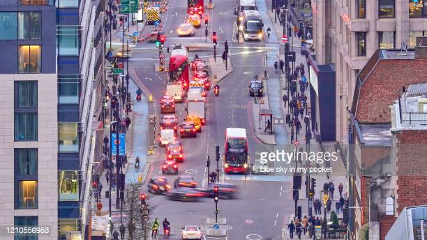 london city life - central london stock-fotos und bilder