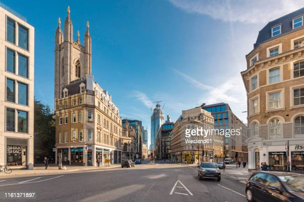 uk, london, city of london, mansion house station, queen victoria street - queen victoria stock pictures, royalty-free photos & images