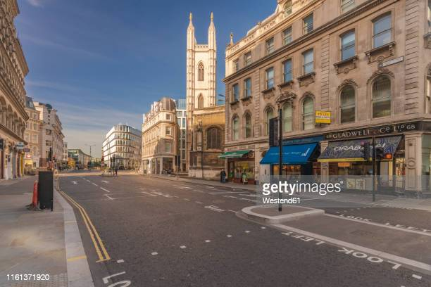 uk, london, city of london, mansion house station, queen victoria street - northern europe stock pictures, royalty-free photos & images