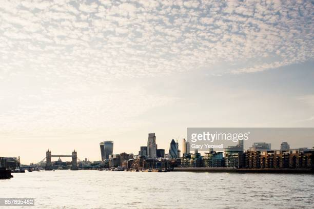 london city skyline - yeowell stock photos and pictures