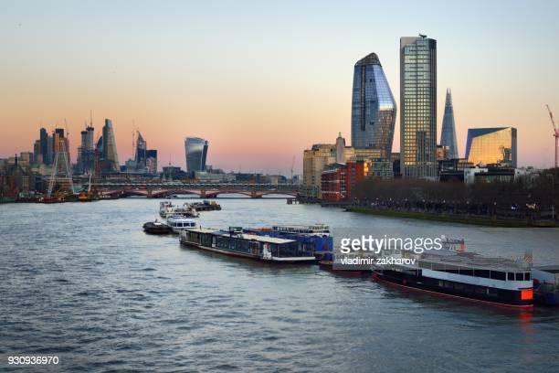 London cityscape 2018
