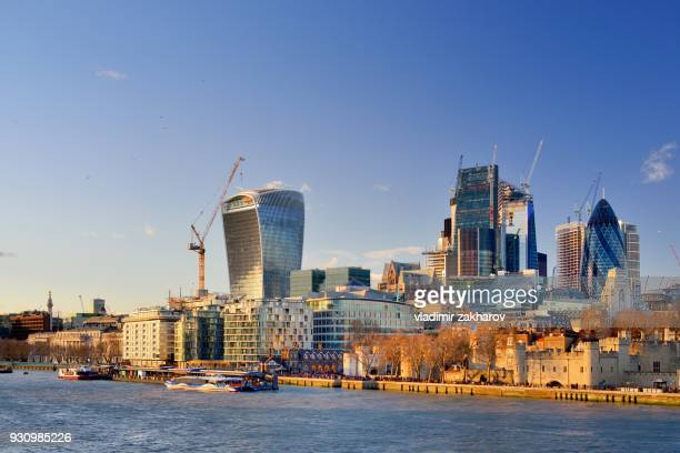 london cityscape 2018 - 2018 stock pictures, royalty-free photos & images