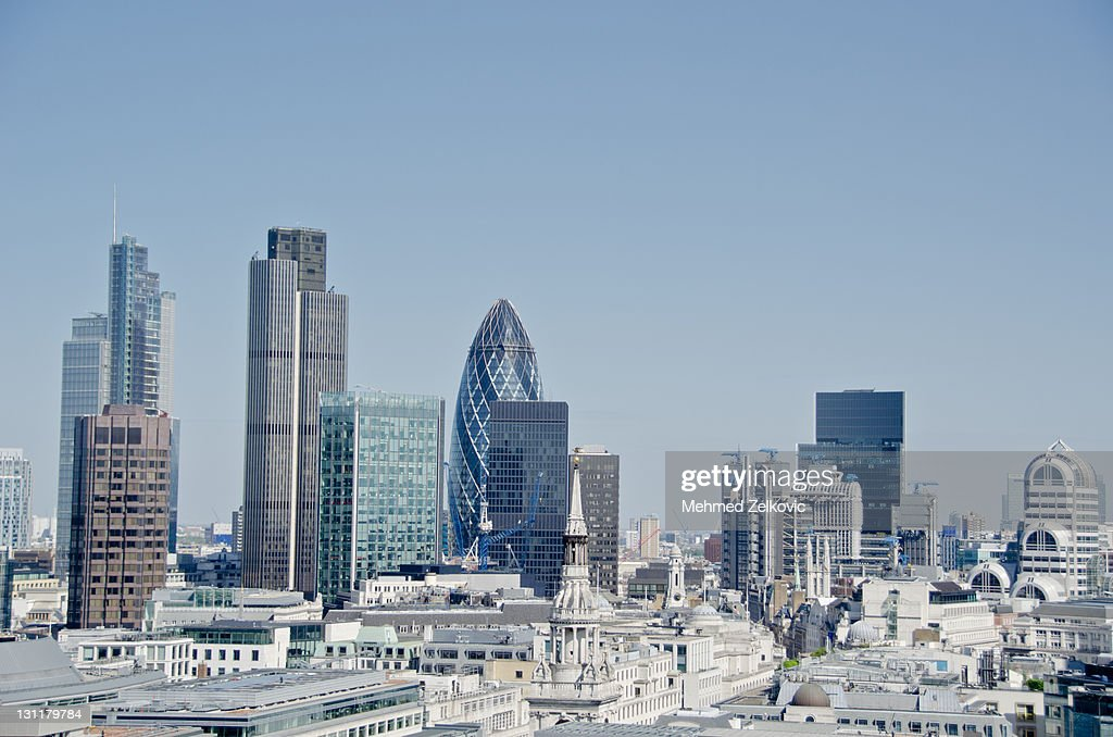 London Cityscape : Bildbanksbilder