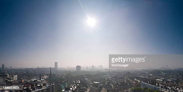 London cityscape sunburst