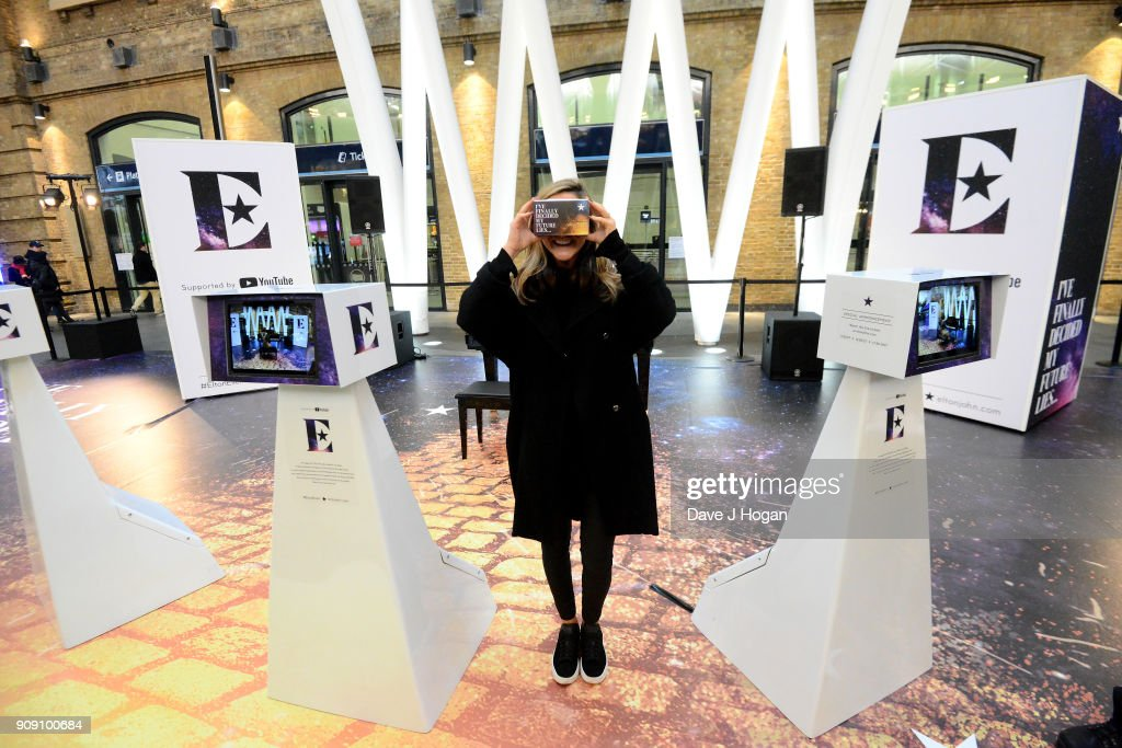 'Elton John Augmented Reality Experience' Photocall