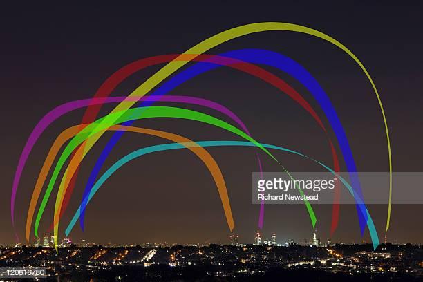 London connection rainbow