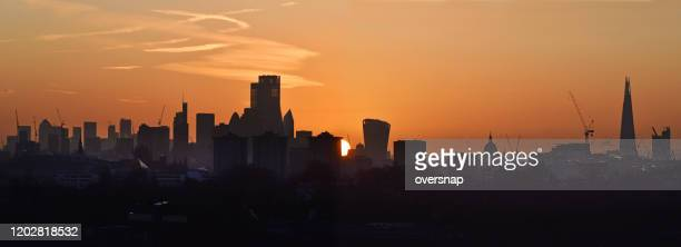 london dawn panorama - camden london stock pictures, royalty-free photos & images