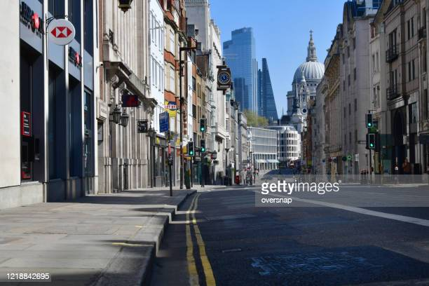 london deserted - lockdown stock pictures, royalty-free photos & images