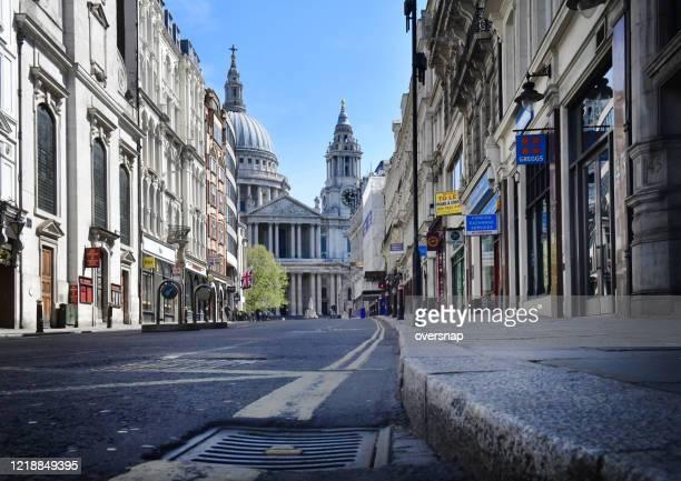 ロンドンのさびれた - セントポール大聖堂 ストックフォトと画像