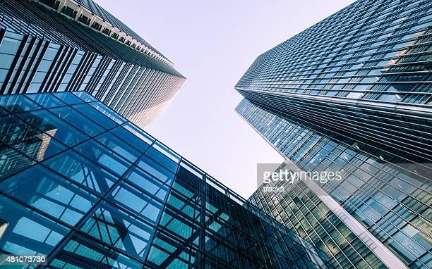 London Docklands skyscrapers