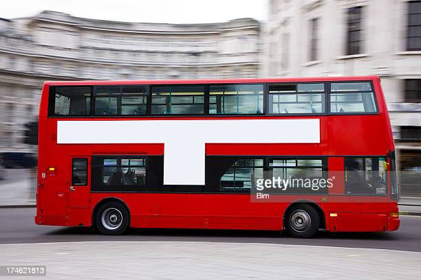 london double decker bus - double decker bus stock pictures, royalty-free photos & images