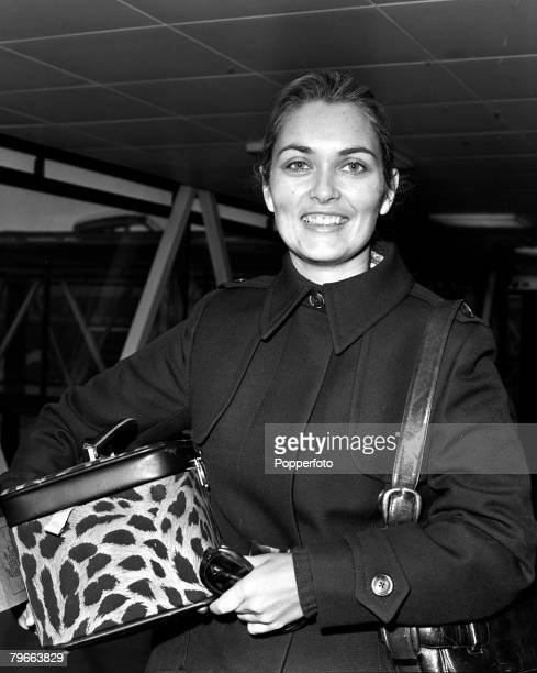 London England 12th November 1970 British actress Alexandra Bastedo is pictured in London