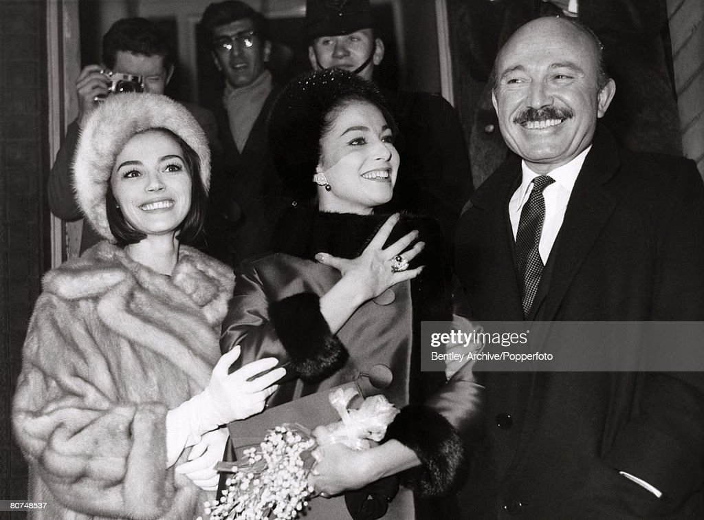 London England Th February  Italian Actress Pier Angeli