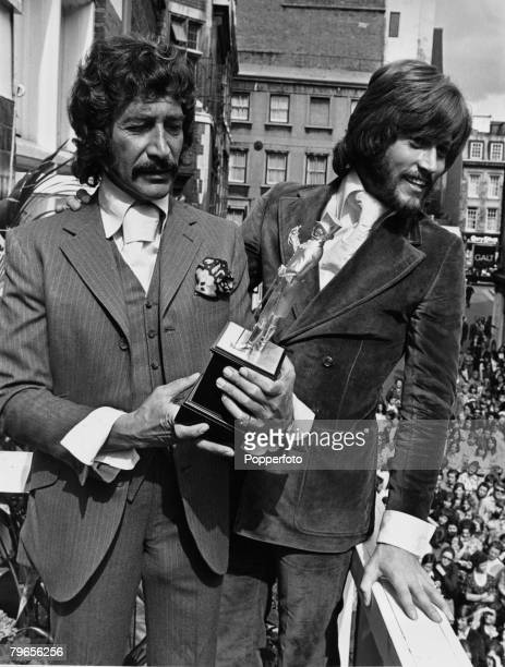 London England 15th August 1970 British actor Peter Wyngarde famous for his role as Jason King in the television series 'Department S' pictured after...
