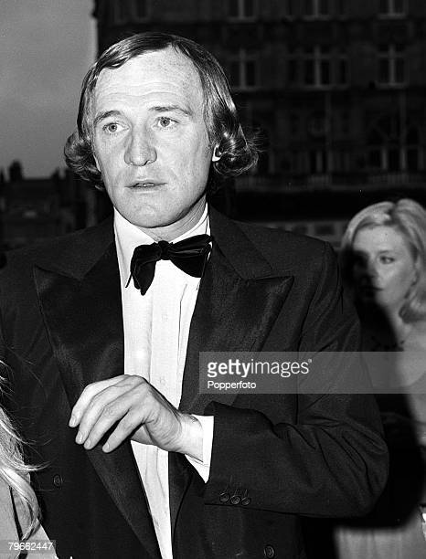 London England 16th July 1970 Irish actor Richard Harris is pictured at the London premiere of his film Cromwell