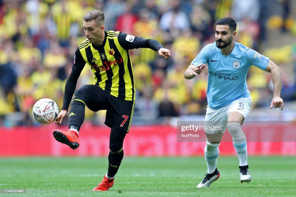 Manchester City v Watford - FA Cup Final : News Photo