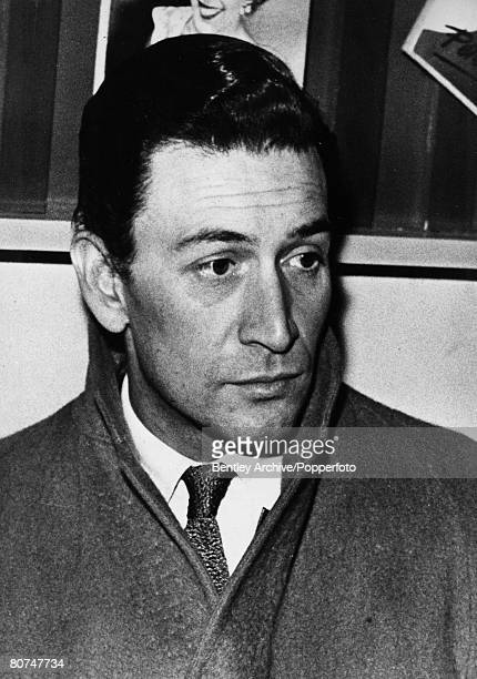 London England 29th December 1957 British actor Peter Wyngarde