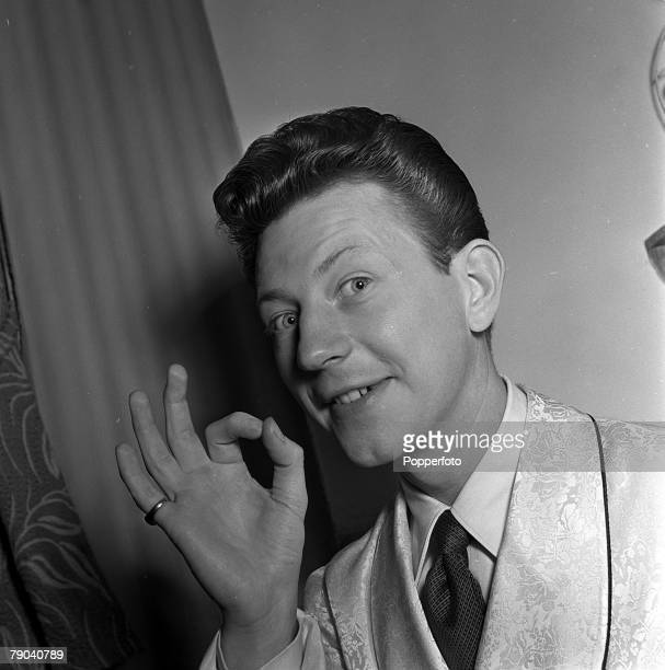 London England A portrait of American film star and dancer Donald O'Connor