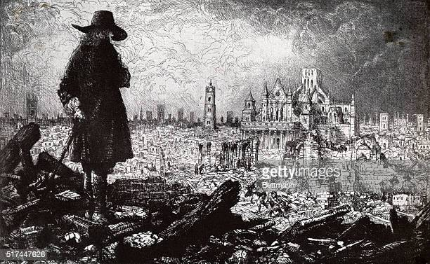 Being come to London I walked a little among the ruins and I saw the city lying according as the word of the Lord same to me concerning it several...