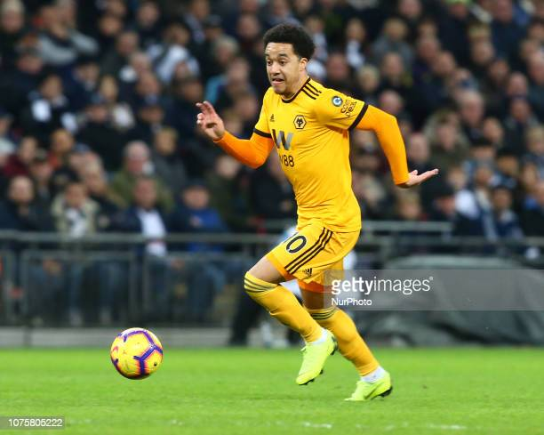 London England December 29 2018 Wolverhampton Wanderers' Helder Costo during Premier League between Tottenham Hotspur and Wolverhampton Wanderers at...