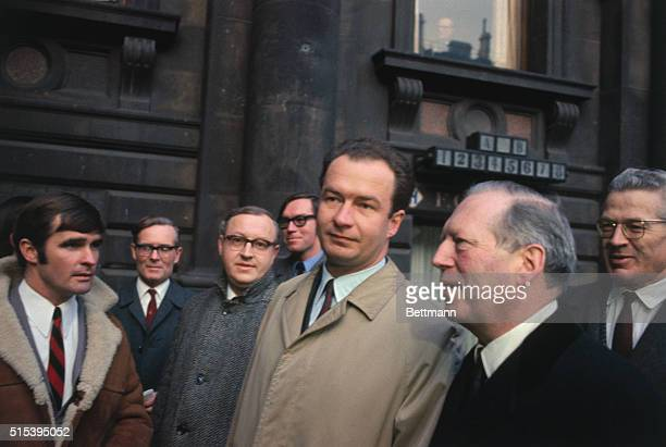 London, England: Deputy Fuhrer's Son In London. Mr. Wolf Hess , son of Rudolf Hess, the former Deputy Fuhrer of Nazi Germany, arrives at the Foreign...
