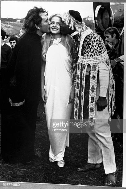 12/4/1967 London England It's not often that a pretty seventeenyearold girl like Ewa Aulin gets well wishes from such notables as Richard Burton and...