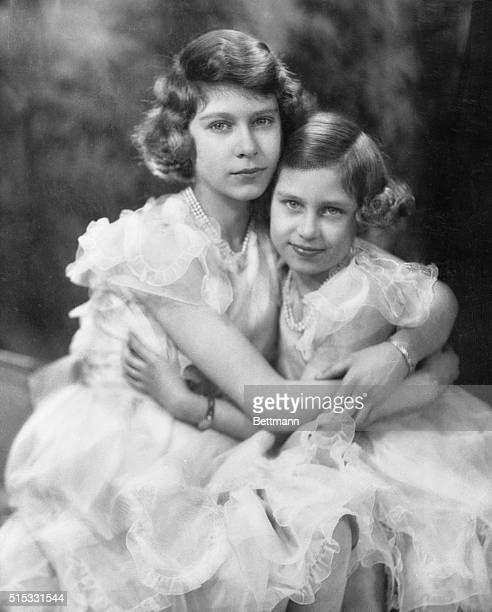 Latest Portrait Of Britain's Princesses--From war pressed England comes this charming photograph of her two best loved young ladies--the two young...