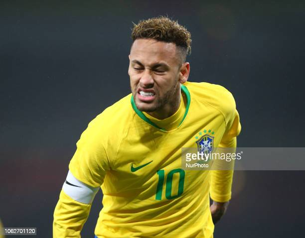 London England November 16 2018 Neymar of Brazil during Chevrolet Brazil Global Tour International Friendly between Brazil and Uruguay at Emirates...