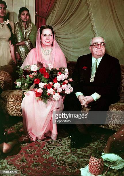 London England The Aga Khan and the Begum pictured at the Ritz Hotel The Aga Khan the spiritual head of the Ismaili Moslem sect