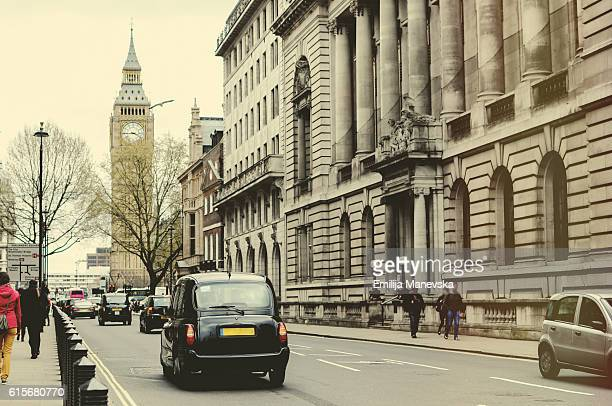 London - English street scene