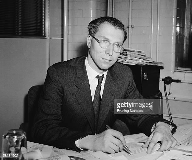 London Evening Standard editor Charles Wintour, 22nd April 1955.