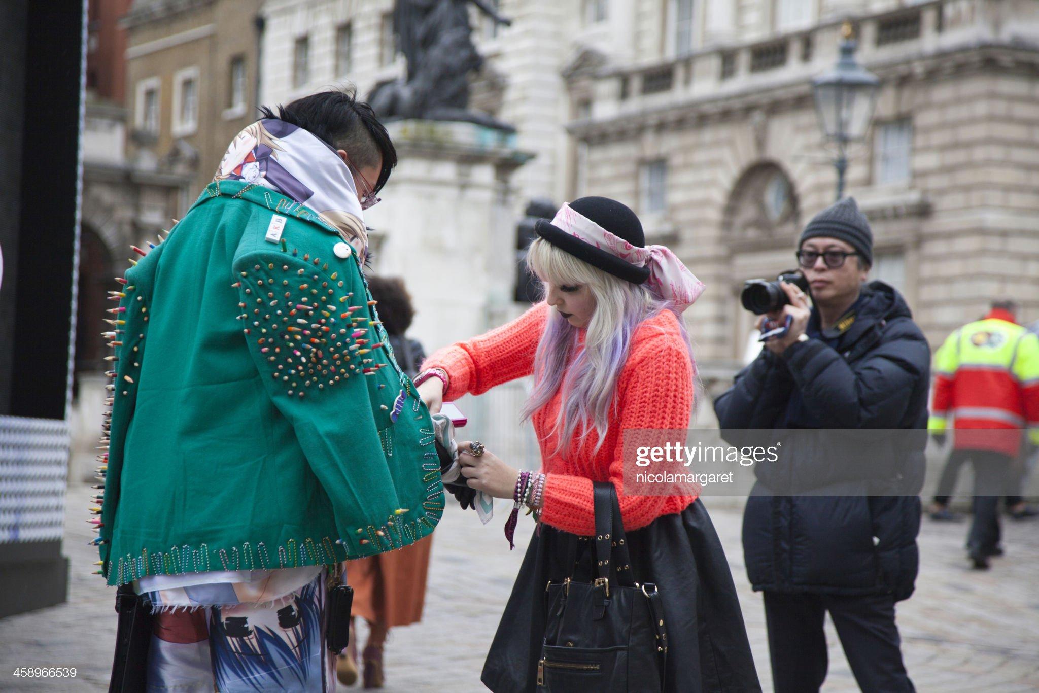 London Fashion Week : Stock Photo