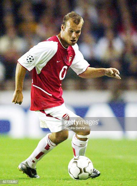 LEAGUE 02/03 London FC ARSENAL LONDON BORUSSIA DORTMUND 20 Fredrik LJUNGBERG/ARSENAL